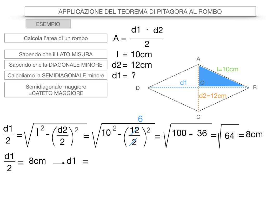 20. APPLICAZIONE DEL TEOREMA DI PITAGORA AL ROMBO_SIMULAZIONE.078