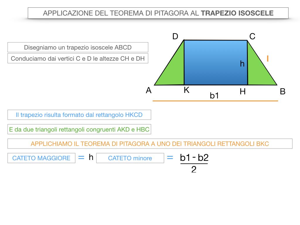 22. APPLICAZIONE DEL TEOREMA DI PITAGORA AL TRAPEZIO ISOSCELE_SIMULAZIONE.010
