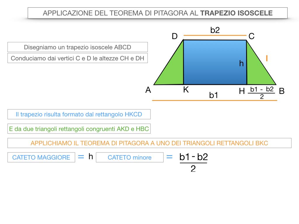 22. APPLICAZIONE DEL TEOREMA DI PITAGORA AL TRAPEZIO ISOSCELE_SIMULAZIONE.012