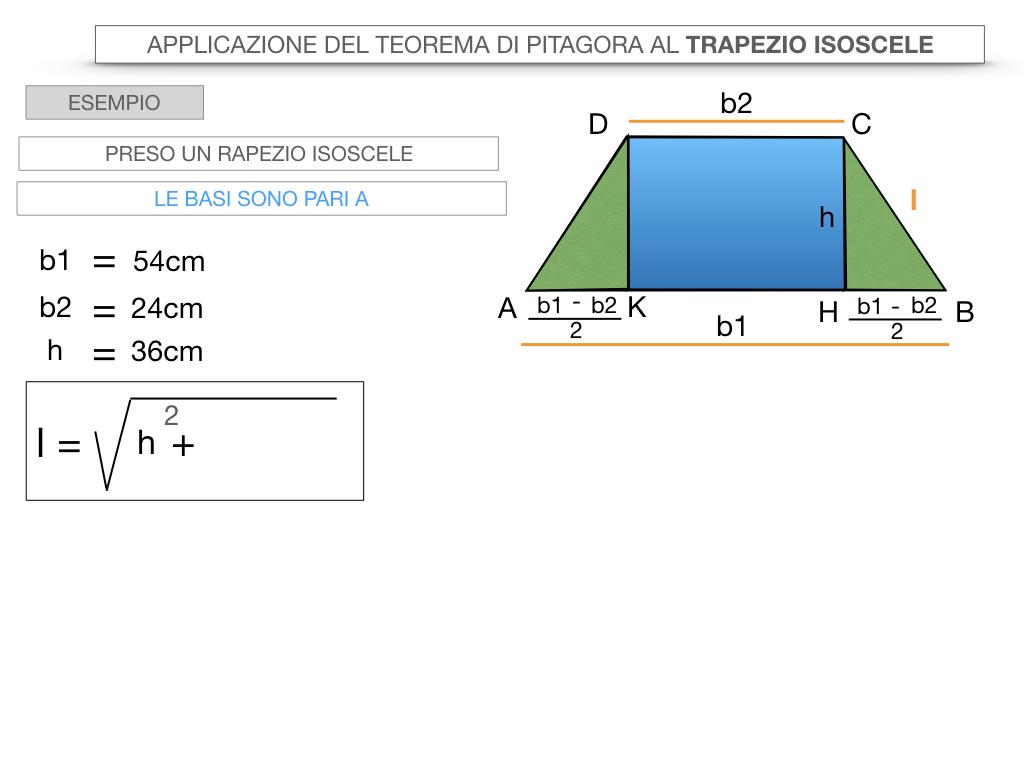 22. APPLICAZIONE DEL TEOREMA DI PITAGORA AL TRAPEZIO ISOSCELE_SIMULAZIONE.032
