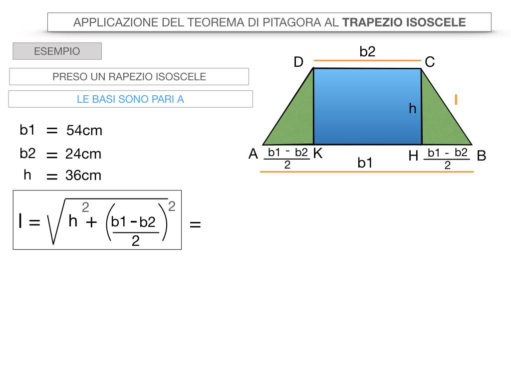 22. APPLICAZIONE DEL TEOREMA DI PITAGORA AL TRAPEZIO ISOSCELE_SIMULAZIONE.033