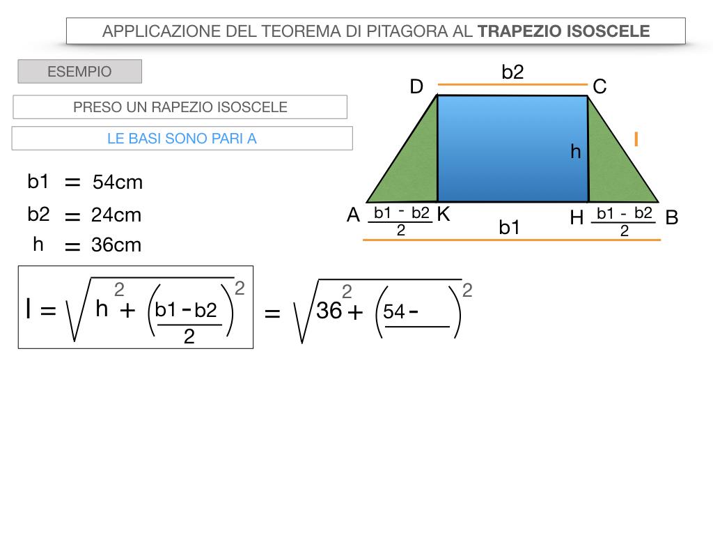 22. APPLICAZIONE DEL TEOREMA DI PITAGORA AL TRAPEZIO ISOSCELE_SIMULAZIONE.035