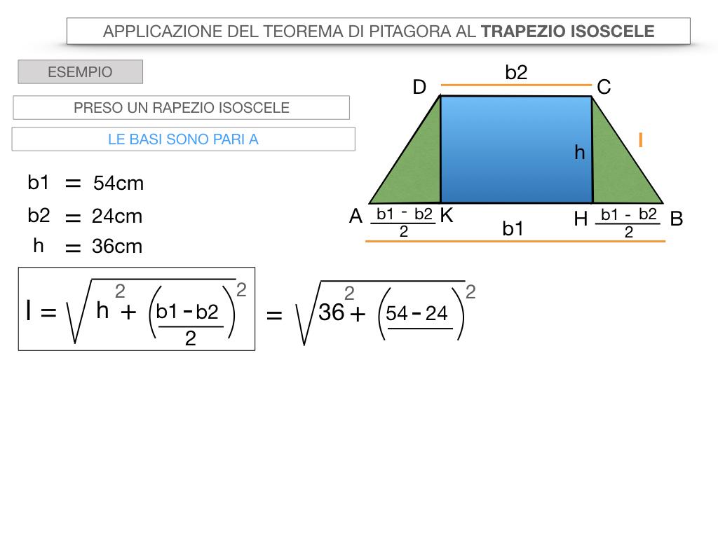 22. APPLICAZIONE DEL TEOREMA DI PITAGORA AL TRAPEZIO ISOSCELE_SIMULAZIONE.036