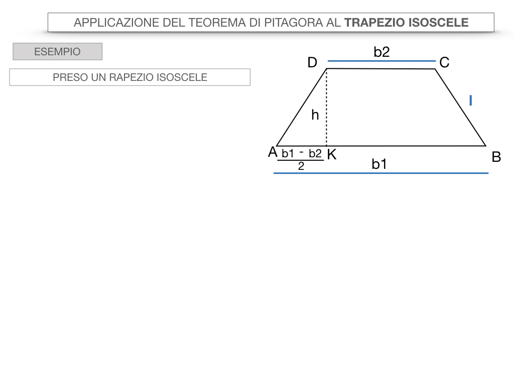 22. APPLICAZIONE DEL TEOREMA DI PITAGORA AL TRAPEZIO ISOSCELE_SIMULAZIONE.046
