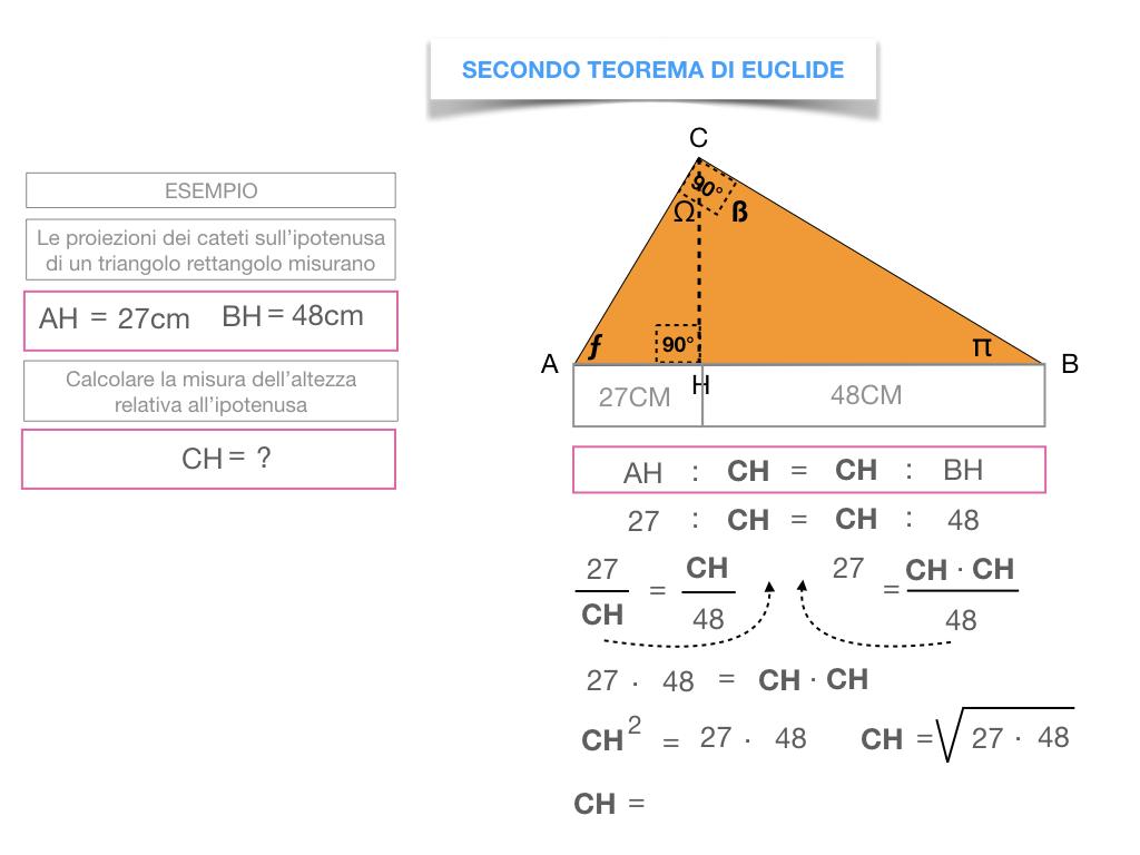 29. IL SECONDO TEOREMA DI EUCLIDE_SIMULAZIONE.167