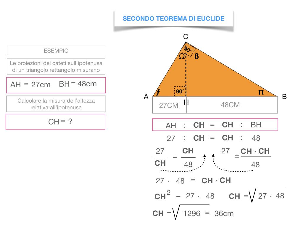 29. IL SECONDO TEOREMA DI EUCLIDE_SIMULAZIONE.169