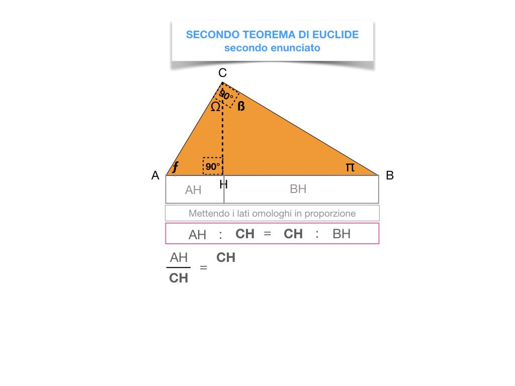 29. IL SECONDO TEOREMA DI EUCLIDE_SIMULAZIONE.181