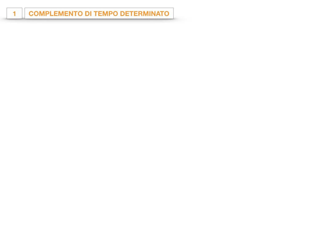 31. COMPLEMENTI DI TEMPO COMPLEMENTO DI TEMPO DETERMINATO COMPLEMENTO DI TEMPO CONTINUATIVO_SIMULAZIONE .017