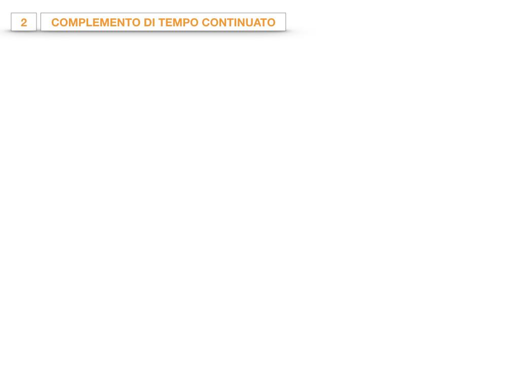 31. COMPLEMENTI DI TEMPO COMPLEMENTO DI TEMPO DETERMINATO COMPLEMENTO DI TEMPO CONTINUATIVO_SIMULAZIONE .142