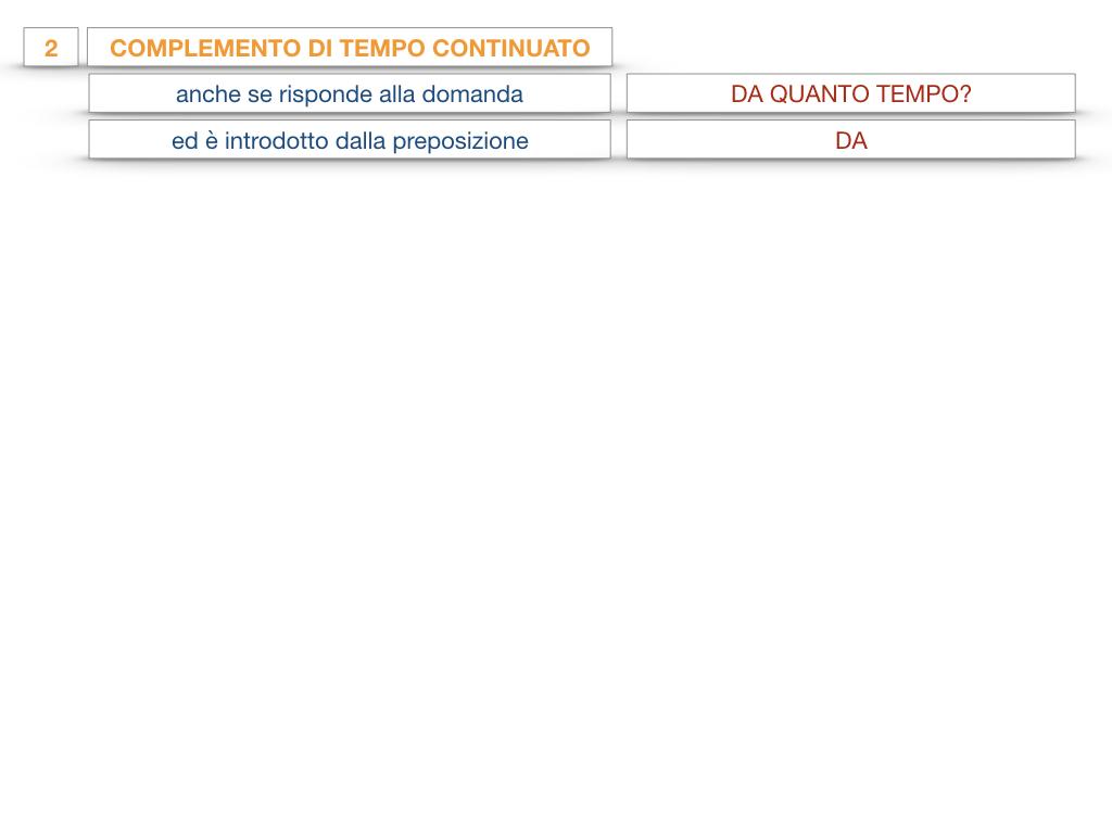 31. COMPLEMENTI DI TEMPO COMPLEMENTO DI TEMPO DETERMINATO COMPLEMENTO DI TEMPO CONTINUATIVO_SIMULAZIONE .146