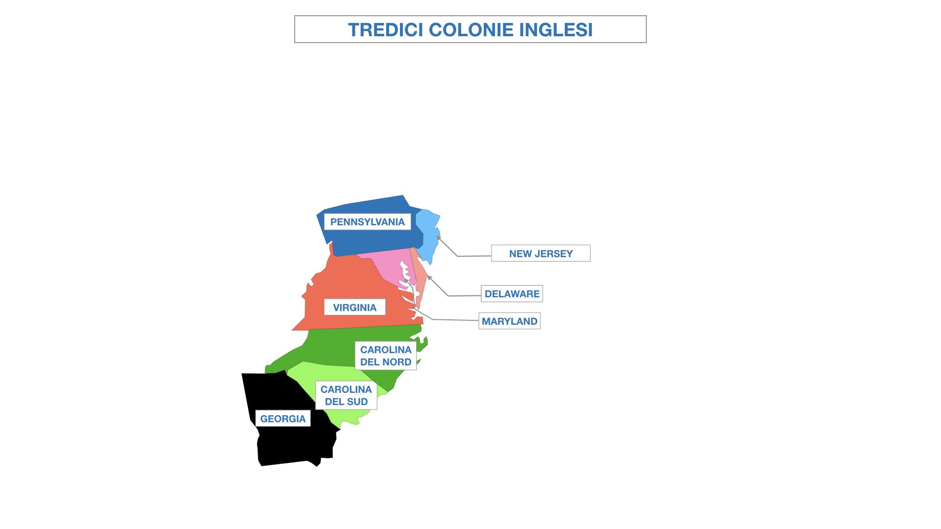 AMERICA LE TREDICI COLONIE INGLESI SIMULAZIONE.030