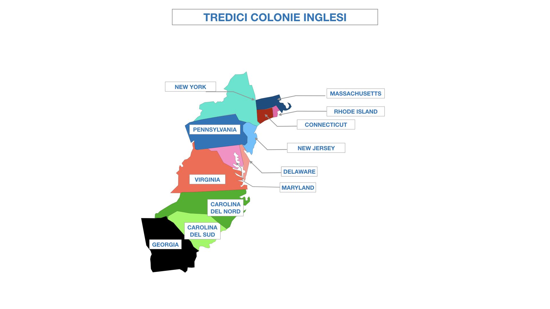 AMERICA LE TREDICI COLONIE INGLESI SIMULAZIONE.034