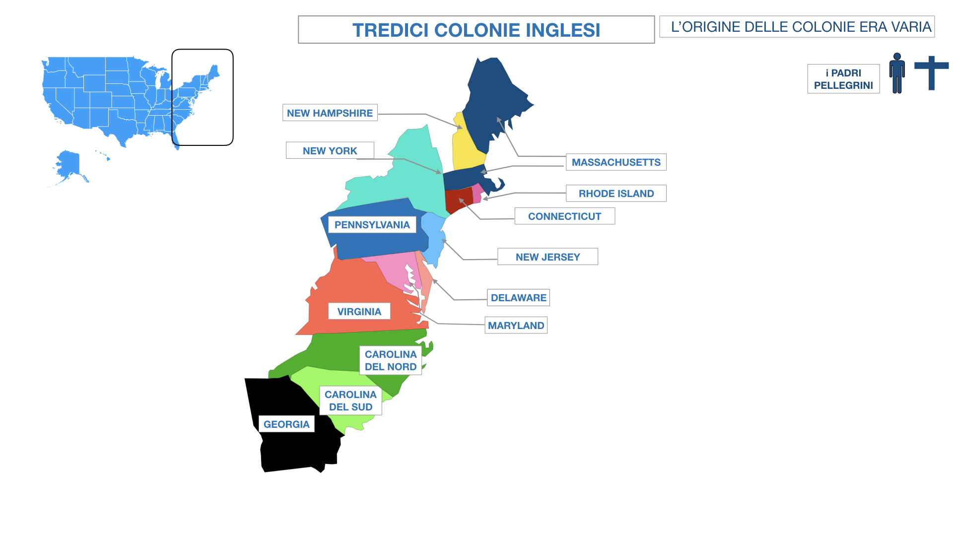 AMERICA LE TREDICI COLONIE INGLESI SIMULAZIONE.039