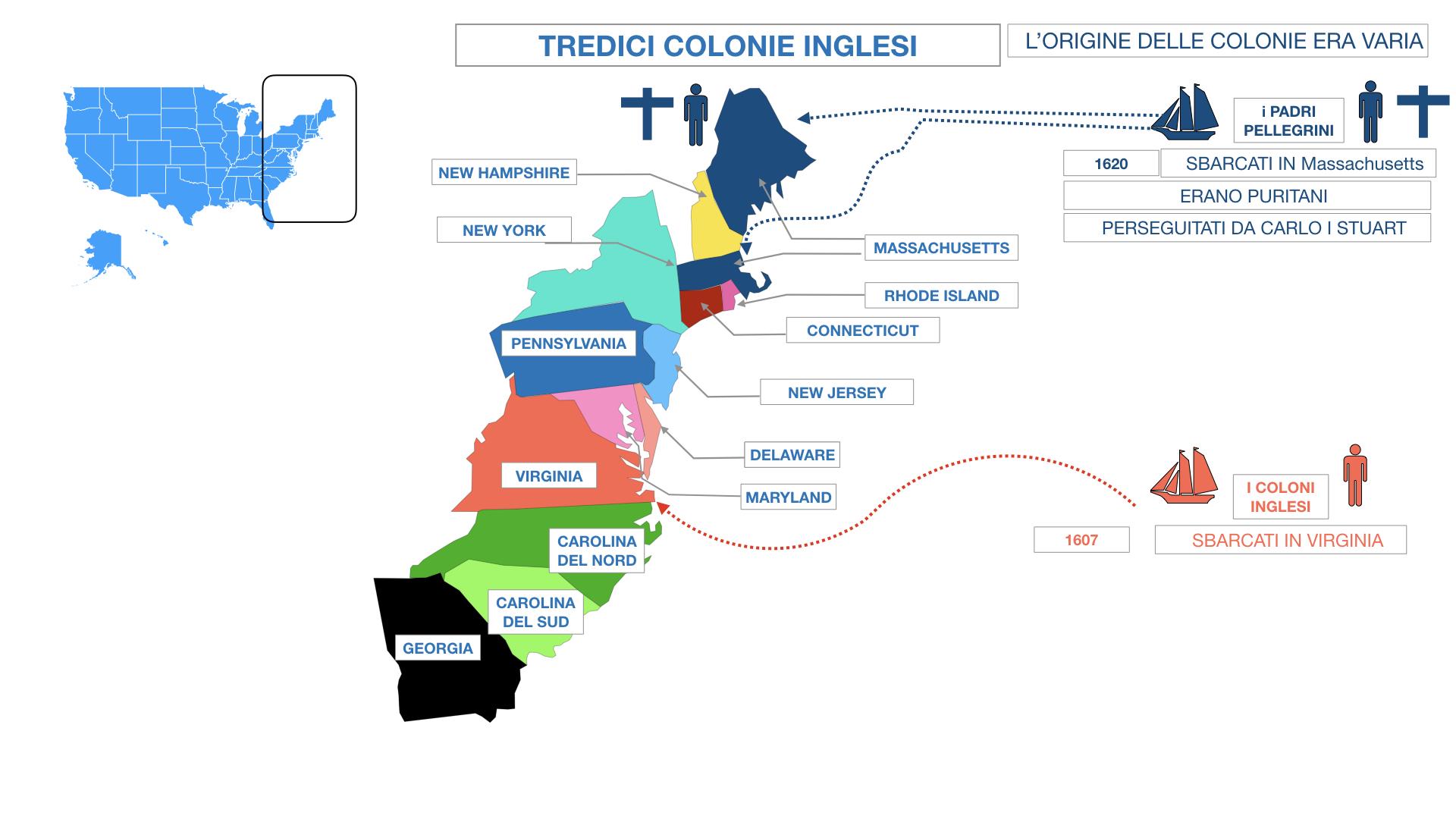 AMERICA LE TREDICI COLONIE INGLESI SIMULAZIONE.047