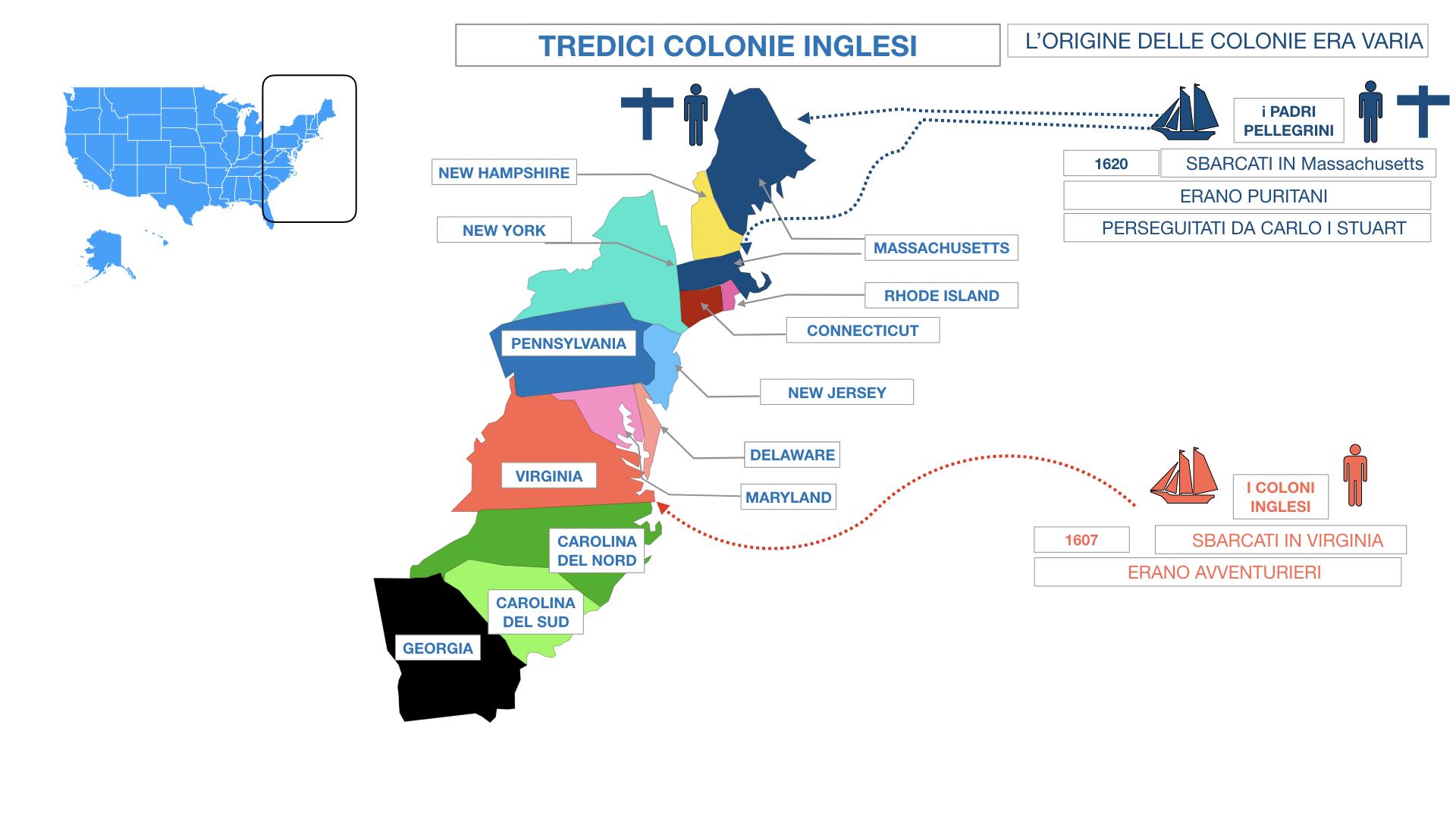 AMERICA LE TREDICI COLONIE INGLESI SIMULAZIONE.048